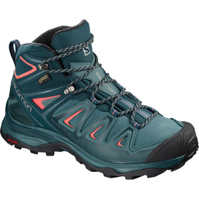 Salomon X Ultra 3 Mid GTX Chaussures Femme, hydro./reflecting pond/dubarry